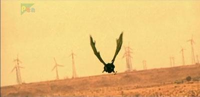 Spooky evil wind farm?