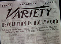 Singin' In The Rain: announcing the demise of the silent film