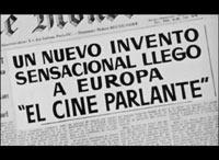 Vampiresas 1930: announcing the demise of the silent film