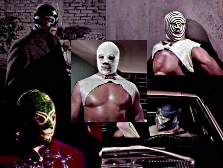 The many faces of Mil Mascaras